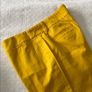 Ankle length yellow pants, Spring has sprung!